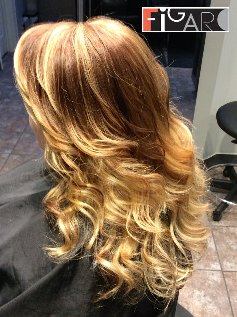 balayage hair blonde, Hair done by Figaro - BEST TORONTO's HAIR SALON