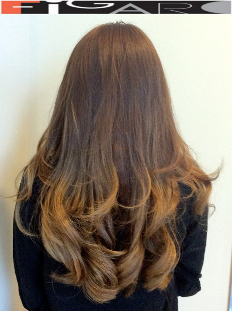 Caramel Blond Balayage by Figaro - BEST TORONTO's HAIR SALON