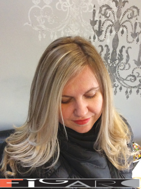 Blonde Balayage Highlights by Figaro - BEST TORONTO's HAIR SALON