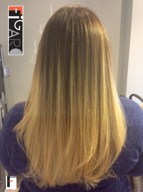 Light Blonde Hair Balayage by Figaro - BEST TORONTO's HAIR SALON