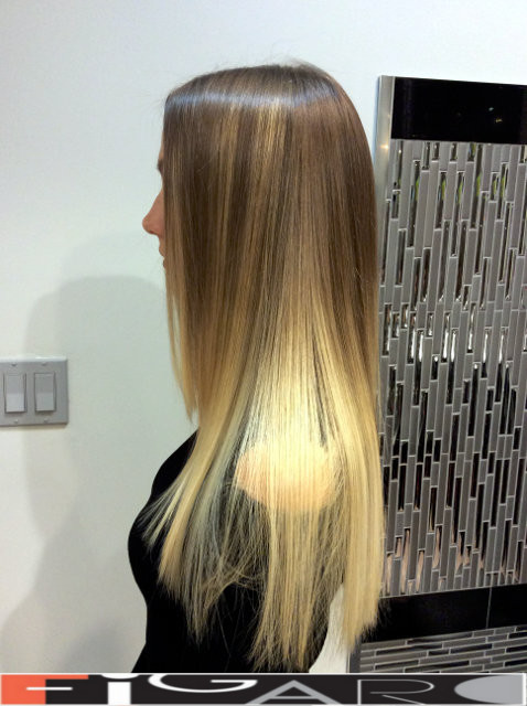 Platinum Balayage Highlights by toronto best salon