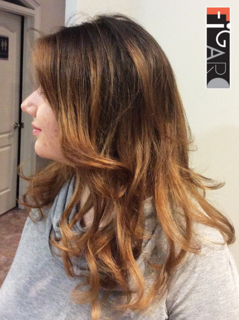 Caramel Balayage by Figaro - BEST TORONTO's HAIR SALON