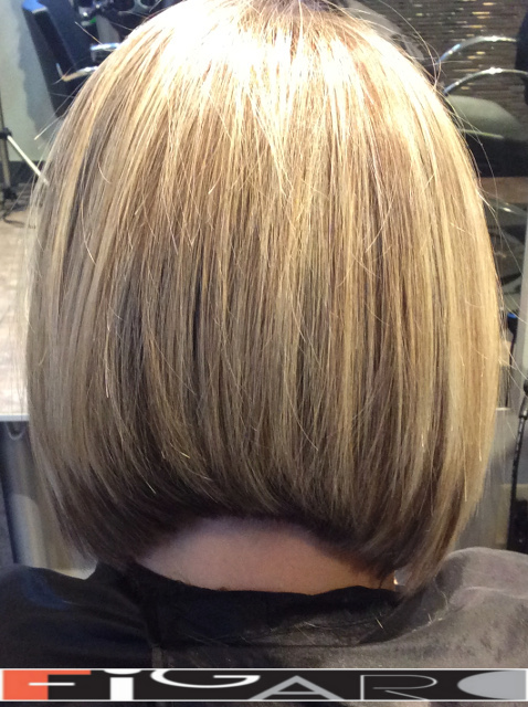 Bob Cut  Hair  by by Figaro - BEST TORONTO's HAIR SALON