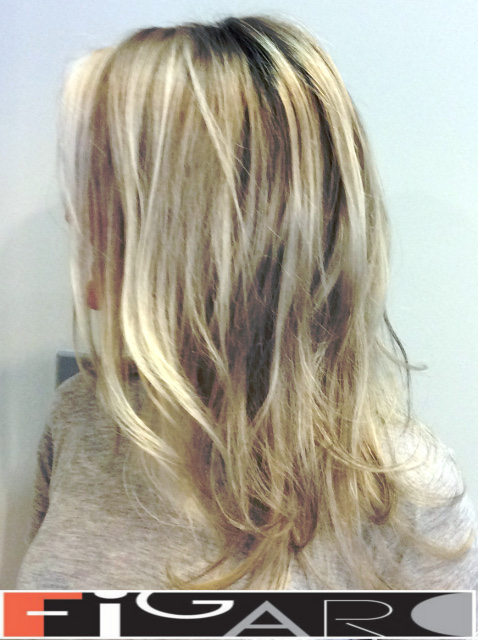 California Highlights Icy Blonde Hair by Figaro - BEST TORONTO's HAIR SALON