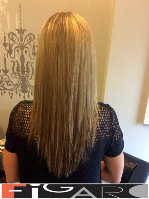 Honey Highlights on Blonde Hair by Figaro - BEST TORONTO's HAIR SALON