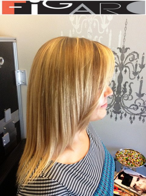 California Highlights Blonde Hair by Figaro - BEST TORONTO's HAIR SALON