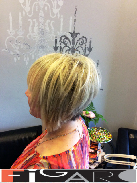 Platinum highlights, Bob Cut by Figaro - BEST TORONTO's HAIR SALON