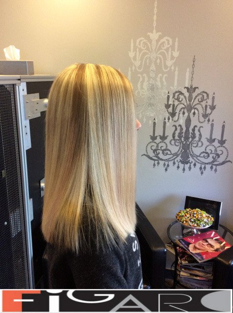 hair highlights by Figaro - BEST TORONTO's HAIR SALON