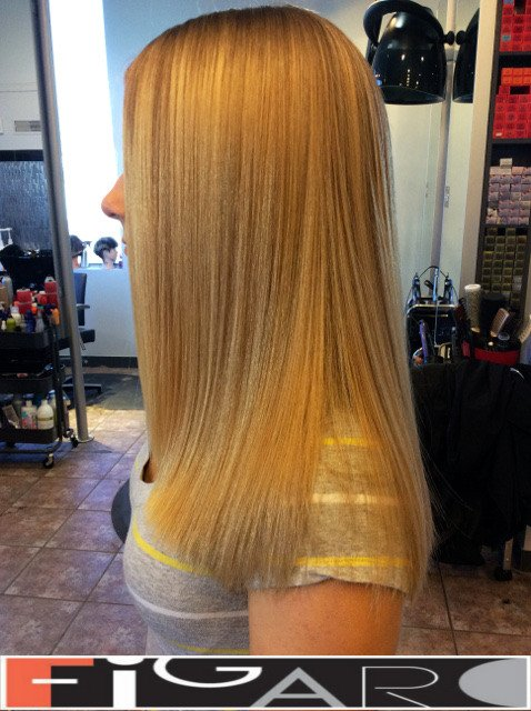 Honey Blonde Highlights by Figaro - BEST TORONTO's HAIR SALON