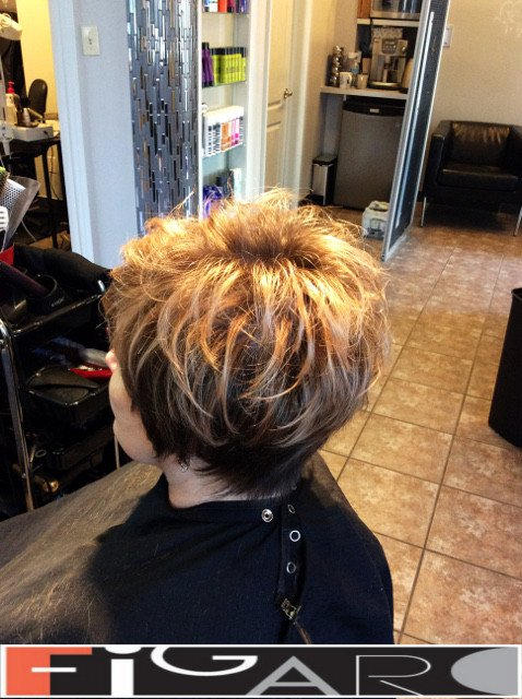 BALAYAGE HAIR Pixie Cut Figaro Hair Salon Toronto
