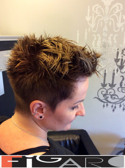 Funky Pixie Hair Cut Figaro Hair Salon Toronto