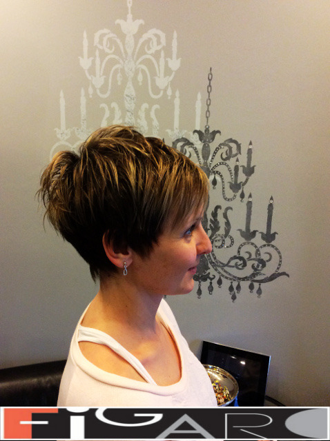 Pixie Cut Short Hair Style Figaro Hair Salon Toronto