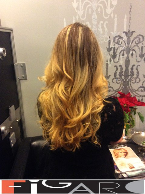 balayage hair blonde, Soft Curl Hair by Figaro - BEST TORONTO's HAIR SALON