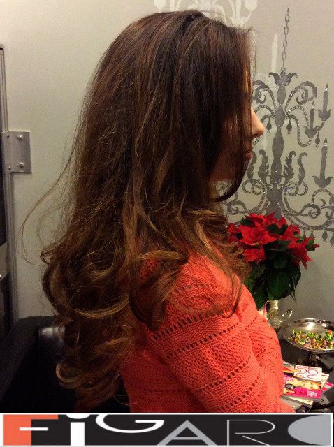 Soft balayage Brunet Hair by Figaro - BEST TORONTO's HAIR SALON