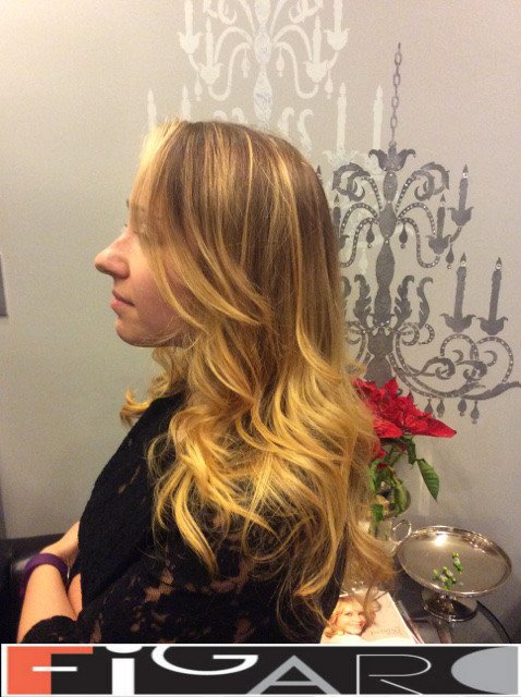 Balayage blonde Hair by Figaro - BEST TORONTO's HAIR SALON