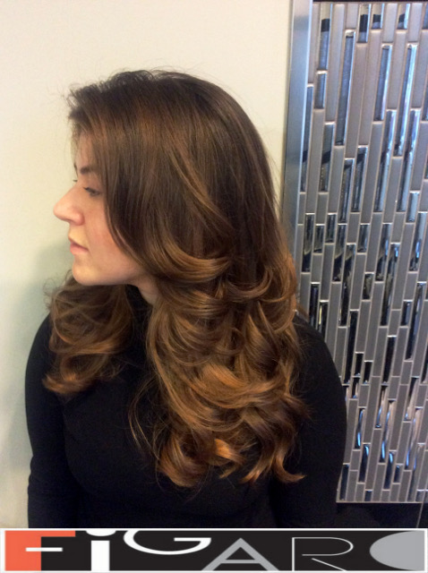 balayageCaramel Brown hair DONE BY BEST TORONTO HAIR SALON