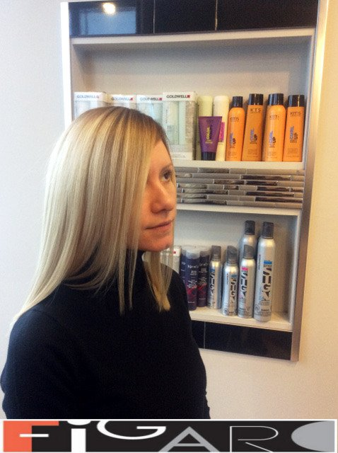Blond Hair, Dark roots Ombre. Olaplex. Goldwell. L'Oreal by Figaro - Best Toronto's Hair Salon