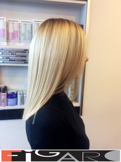 Ash Blond Hair, Dark roots. Olaplex. Goldwell. L'Oreal by Figaro - Best Toronto's Hair Salon