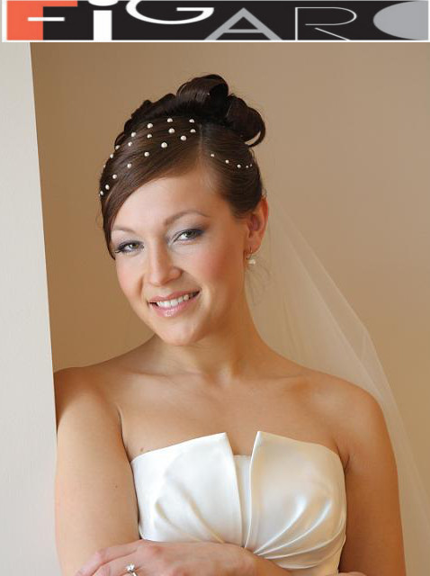 Bridal Updo Hair Up by Figaro - Best Toronto's hair Salon