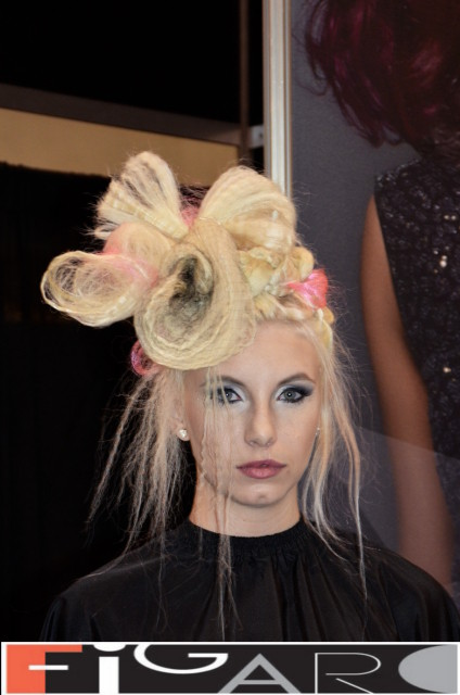 Elena's  Artistic Updos at ABA TORONTO 16 by Figaro - Best Toronto's hair Salon