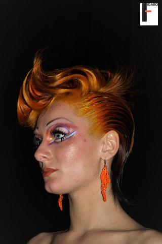 ABA women  vibrant hair color 2009