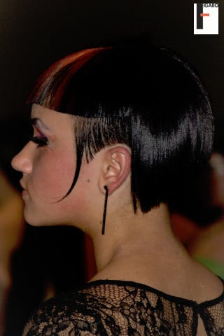 ABA women short hair color 2009
