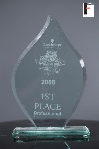 1st place professional Schwarzkopf Toronto 2008