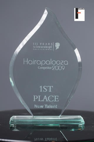 1st place New Talent Schwarzkopf Toronto 2009