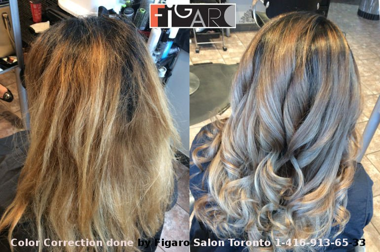 Best hair color correction in Toronto