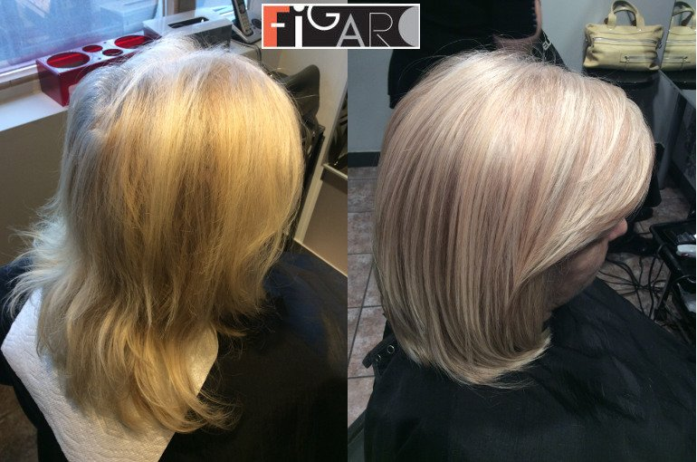 Best hair color correction in Toronto 2018