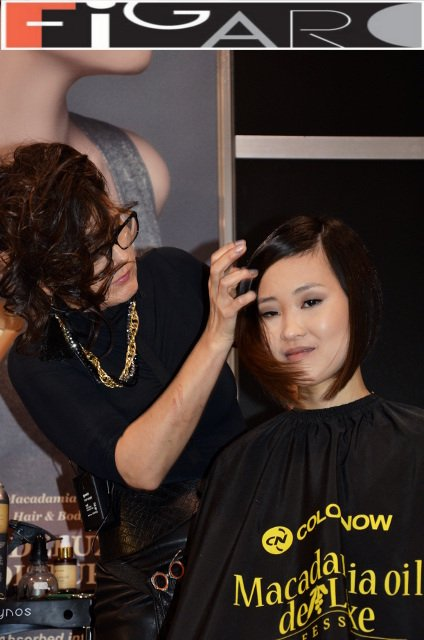 A Line Bob Cut ash Brown Asian Hair at ABA TORONTO 16 by Figaro - Best Toronto's hair Salon