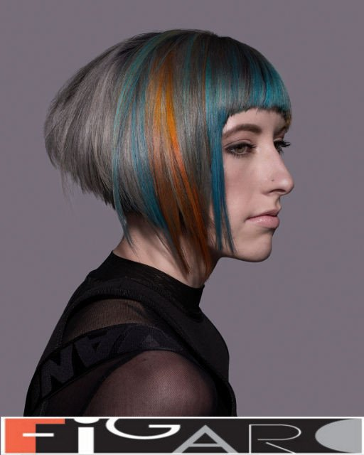 Bob Cut By Elena Bogdanets Goldwell Color COLORZOOM 2016 by Figaro - Best Toronto's hair Salon