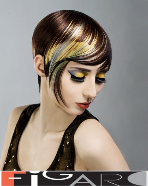Elena's entrance for COLORZOOM Canada in 2012 by Figaro - Best Toronto's hair Salon