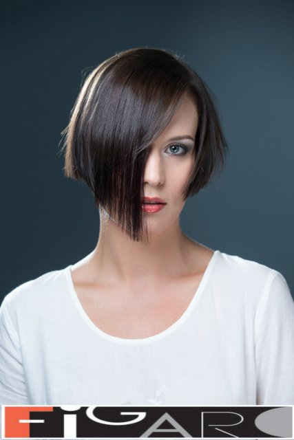 Graduated Bob Fine HairStyle by Figaro - Best Toronto's hair Salon