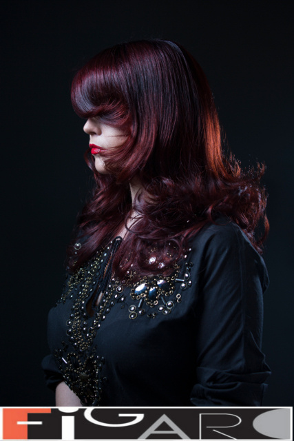 Multi Red Hair Color by Figaro - Best Toronto's hair Salon