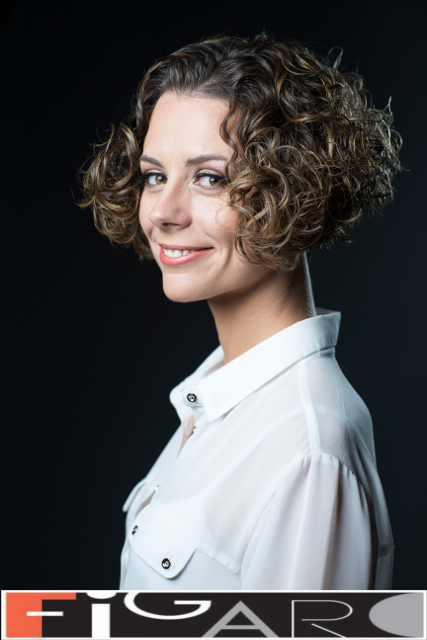 Bob Cut. Great for natural curly hair by Figaro - Best Toronto's hair Salon