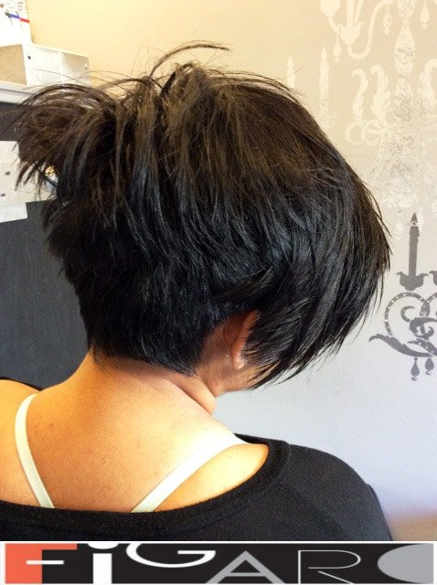 Classic hair coloring to brunettes Figaro Hair Salon Toronto