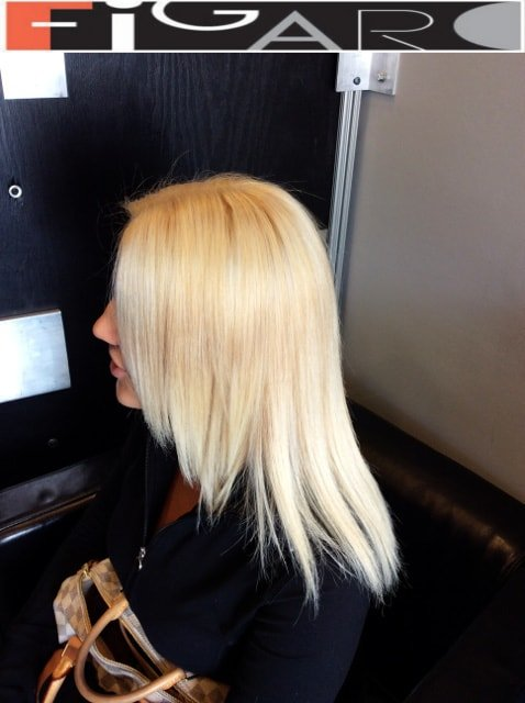 Blond hair coloring ideas by Figaro Hair Salon Toronto
