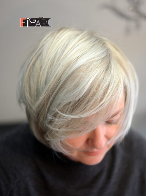 Bob Cut Hairstyle Platinum Blond 2019 - BEST TORONTO's HAIR SALON