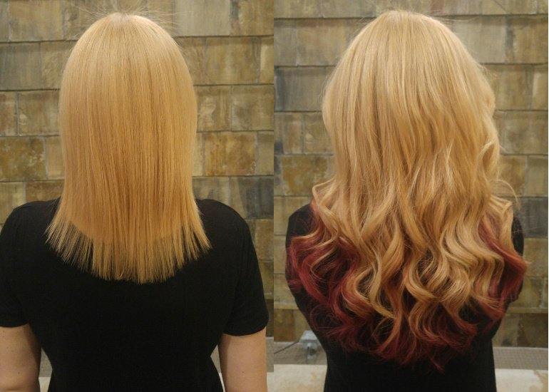 Great length hair extensions Toronto