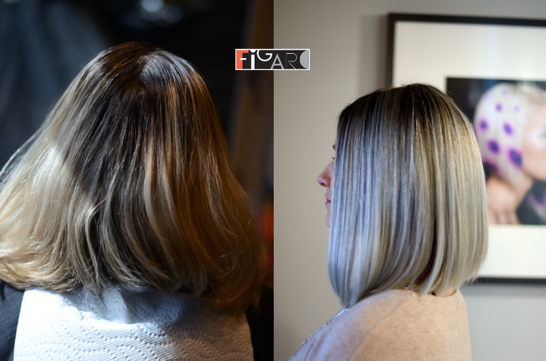 Color correction to Platinum Blond Airtouch 2019