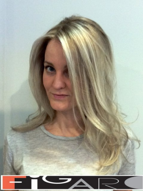 California Highlights Icy Blonde Award winning Figaro Salon-BEST in Toronto.