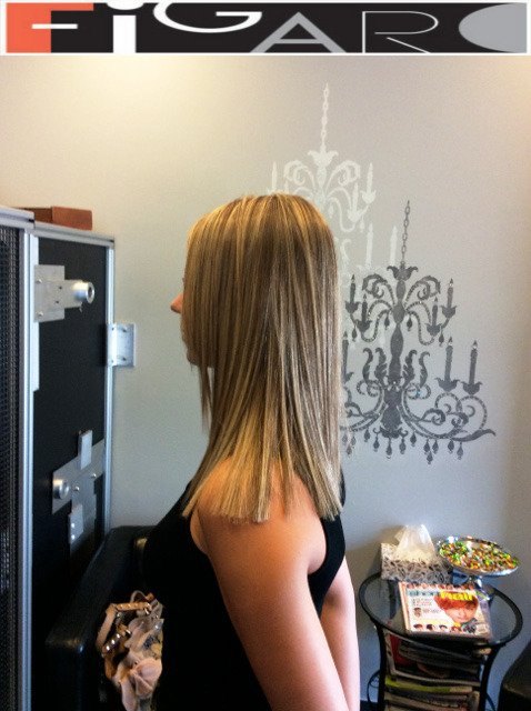 Platinum Highlights on Blonde Hair. We use Olaplex L'oreal Goldwell