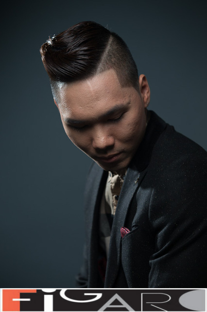 Pompadour Men Hairstyle by Figaro Salon Toronto