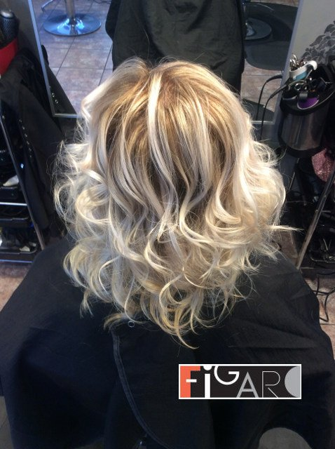 Sombre Highlights by Figaro Hair Salon Toronto