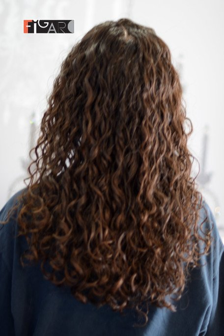 Spiral perm on Long Hair done by Lina 2019 figaro salon