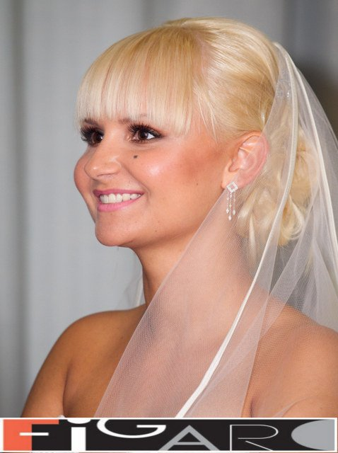 Bridal Updos by best hair salon in Toronto